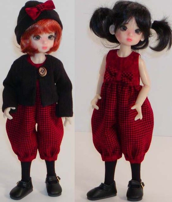 SALE Sweater & Romper - Wiggs Tiny BJDs - Little Fee - Similar