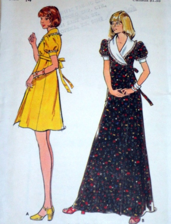 Butterick 3674 Sewing Pattern, Dress In Two Lengths, Size 14, Bust 36