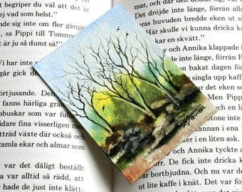 Waiting for Spring an Original Watercolor Painting aceo