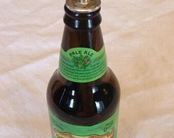 Oil lamp kit for beer bottle, set of 4