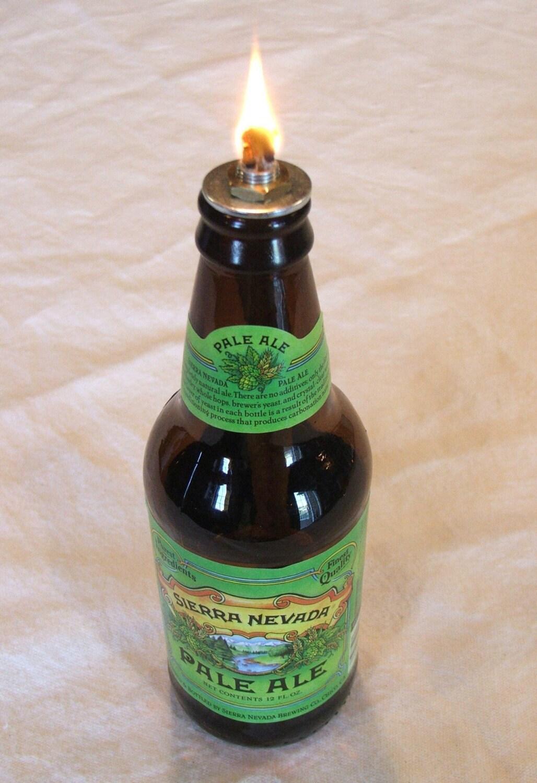 Oil Lamp Kit For Beer Bottle Set Of 4