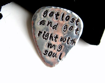 Guitar Pick in Sterling Silver