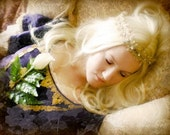 CLEARANCE - Waiting for Love's First Kiss - Sleeping Beauty Fairy Tale 8x10 Fine Art Photography Print