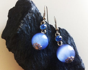 Moonlight Blue Earrings
