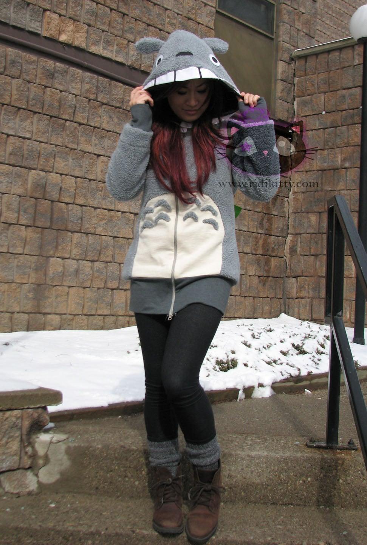 Totoro Cosplay Hoodie Sweater dress EXPRESS SHIPPING
