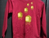 Toddlers Water Towers Long Sleeve Tshirt in Red for Boys and Girls