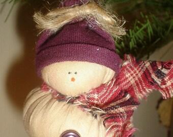Snowman Christmas Ornament - Set of 3