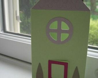 New Home Card, Housewarming - Green
