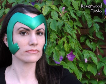SALE - Halloween costume adult, Polaris cosplay, Elf, Medusa - Warrior headdress pearl green