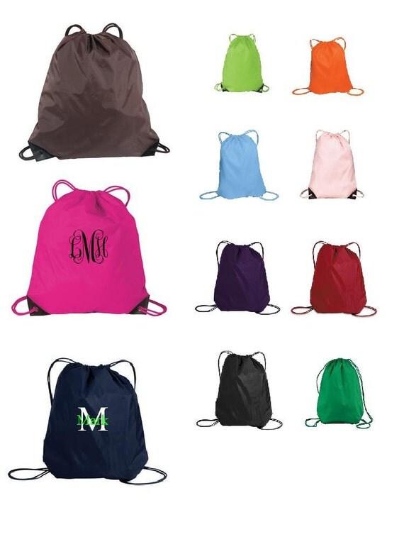 Custom list for 2 - Personalized Bag Drawstring Backpack