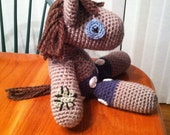 Smarty Pants MLP Crochet Plush Doll PATTERN PDF Amigurumi