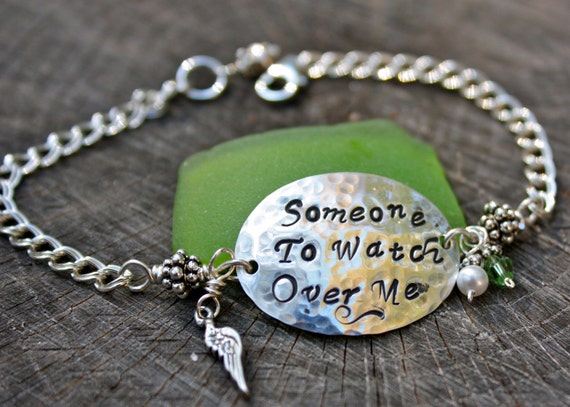 someone to me bracelet with wing charm