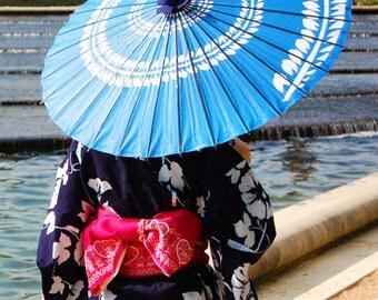 KIMONO GIRL - 8 X 10 Fine Art Photo Print