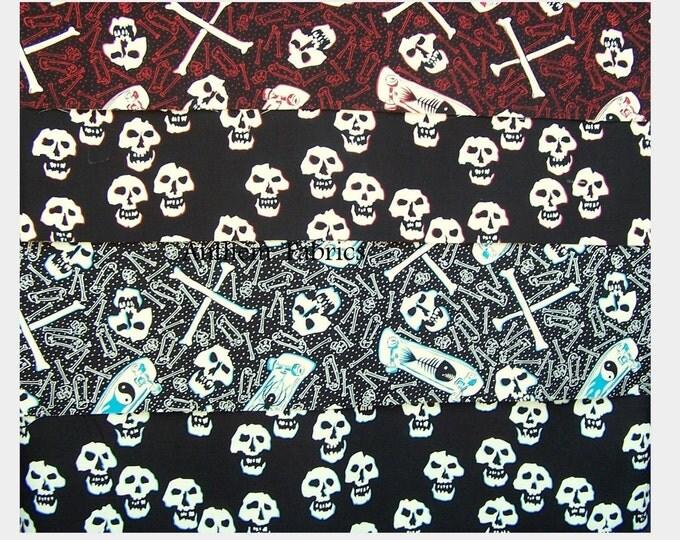 Skate & Skull by Alexander Henry Fabrics - by the yard