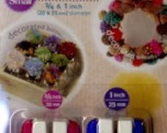 Clover Pom Pom Maker Small