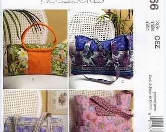 NEW - McCall's Fashion Accessories Pattern M5066 - Handbags