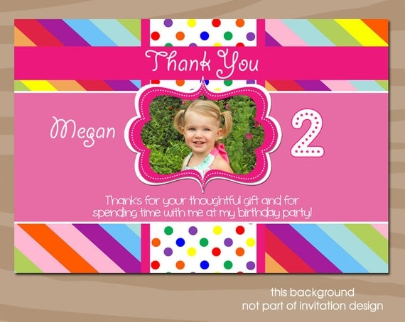 Watch more like Second Birthday Thank You Sayings – Thank You Card Wording for Birthday Gift