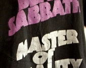 Black Sabbath Master of Reality Tee Shirt Size Small,  Large, XL