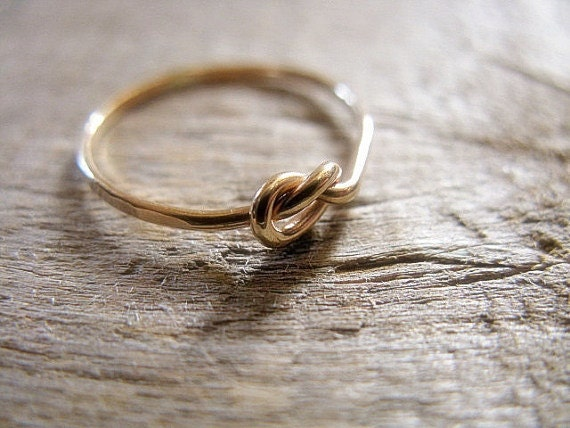 14k Gold Fill Knot Ring