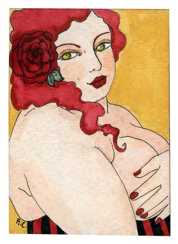 Rose nude (5x7 or 8x10 print)