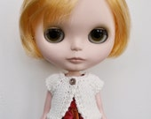 Blythe Cardigan - CREAM Short Sleeved