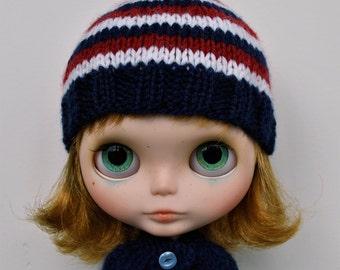Blythe Hat - NAVY STRIPE