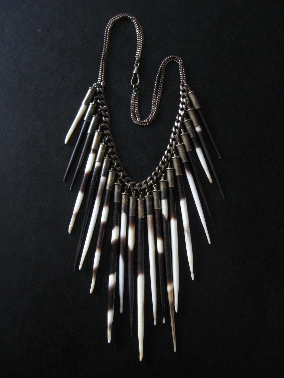 Porcupine Quill Jewelry Porcupine Quill Statem...