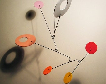 Modern Hanging Art Decor Foam BB1 Calder Style Baby Mobile Any Colors