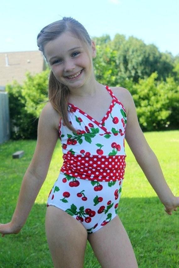 Sizes 6-16 All 4 One Stylish Swimsuit PDF sewing pattern