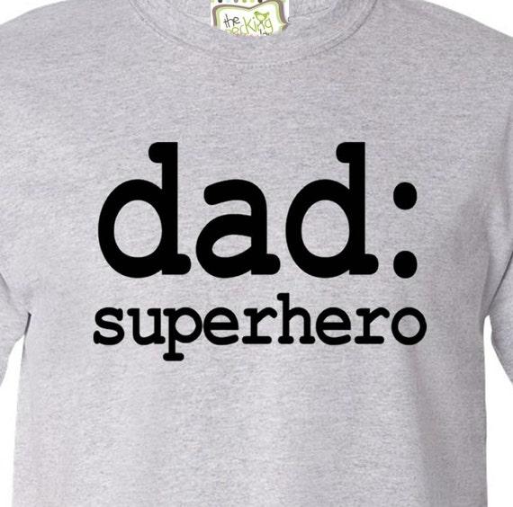 Dad or grandpa shirt - superhero, rockstar, custom wording t-shirt for dad or grandpa - funny Father's Day, holiday or birthday gift