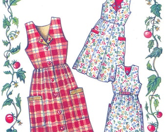 Jumper Dress Pattern Ladies Sizes from the Paisley Pincushion