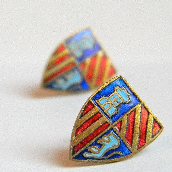Haute Heraldry Earrings