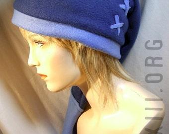 Legend of Zelda - Link cosplay cap in Zora BLUE - hats by orgXIIIorg