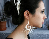 Cygnus Large Earrings with Soft Spikes