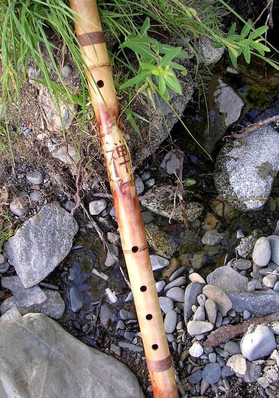27 Inch Zen Buddhist Meditation Flute