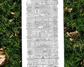 Original letterpress print - Vertical Cities (revised 2nd edition)
