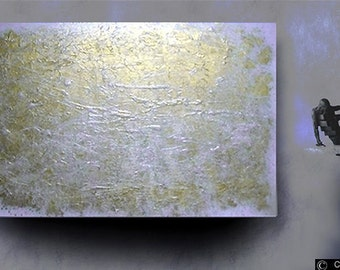 ABSTRACT fine  art modern original painting acrylic wall hanging textured made to order contemporary art Carol Lee Art Studio