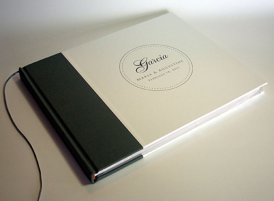 Custom bridal guest book wedding guestbook by transientbooks for Hotel design book