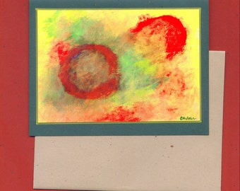 GY3 Fine Art Note Card
