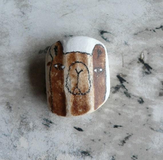 Beach Pottery Bear