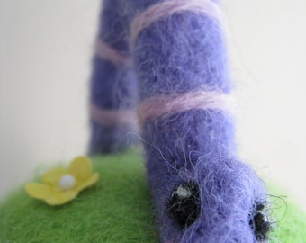 Purple Inchworm - Made to Order