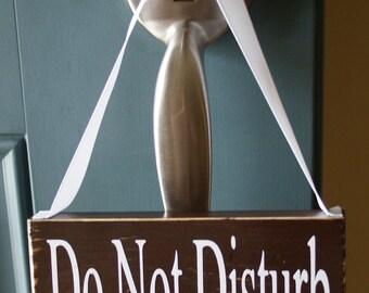 Do Not Disturb Pumping In Progress - nursing door hanger - working mom
