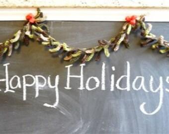 Crochet Christmas Garland -Pattern-