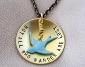 Not All Who Wander Are Lost - Inspirational Jewelry
