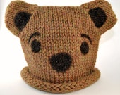 Wool Bear Hat - Toddlers and Kids