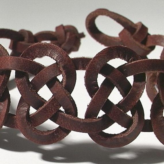 celtic 11 knot josephine men 39 s ankle bracelet by niceknots. Black Bedroom Furniture Sets. Home Design Ideas