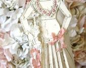 saint rose - a santos paper doll
