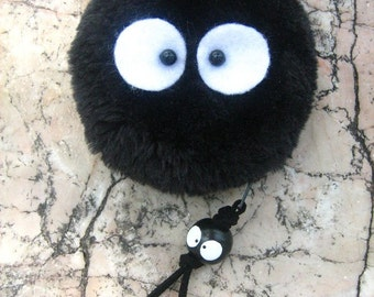 Totoro / Spirited Away Soot Sprite KUROSUKE Coin bag