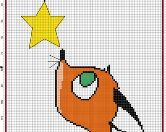 If I could wish Cross Stitch Pattern - Professional Pattern Designer and Artist Collaboration