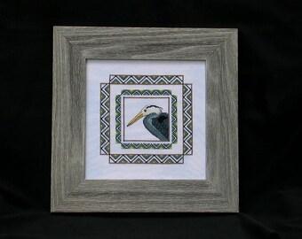 Blue Heron Chart by RK Portfolio